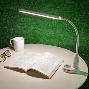 5W 24 LED Eye Protection Table Lamp Clamp Clip Light Table Lamp Stepless Dimmable Bendable USB Powered Touch Sensor Control read