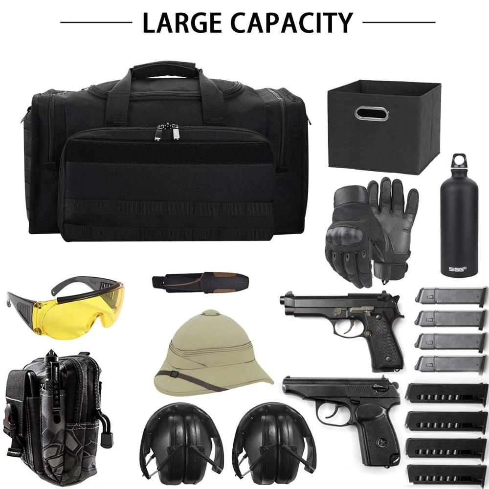 SoarOwl tactical Gun Bag Shooting Series Package Outdoor Multi function Tactical Package Military Lockable Zipper Nylon in Hunting Bags from Sports Entertainment
