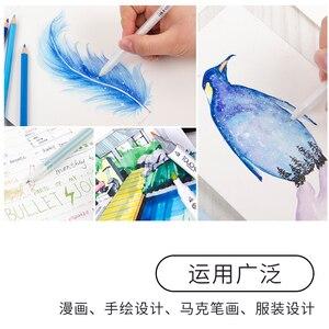 Image 3 - ساكورا جيللي رول حبر جل مجموعة أقلام 3 d ألوان الباستيل خط العرض 0.6 مللي متر 10 أقلام مجموعة