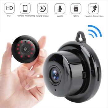WIFI Mini Camera 1080P 960P P2P Wireless Baby Monitor Mini Cam Infrared Night Vision Motion Detection SD Card Slot Audio APP