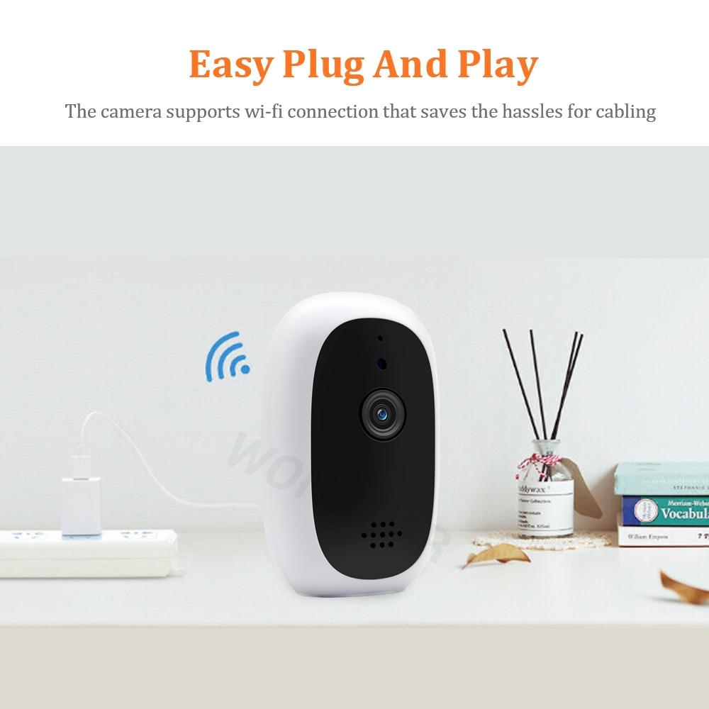 Image 5 - WONSDAR IP Camera WIFI 960P Home Security Wireless Mini Camera Surveillance CCTV Baby Monitor IR Night Vision P2P YCC365 PlusSurveillance Cameras   -