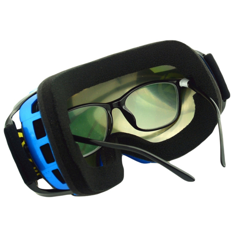 Unisex Skiing Eyewear Snow Goggles Double-layer Anti-fog Ski Glasses Spherical Lens Snowmobile Eyewear Sport Glasses