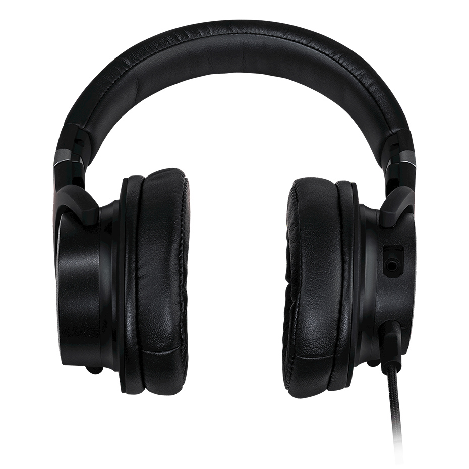 Cooler Master MH751 Game Headphones Suspension Headband Headset 3.5mm Connector 40mm Neodymium Drivers Denoise With Microphone