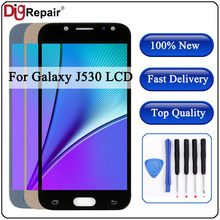J530f lcd For SAMSUNG GALAXY j5 2017 lcd J530 J530F SM-J530F J5 Pro 2017 LCD Display touch Screen Digitizer Assembly J530 screen(China)