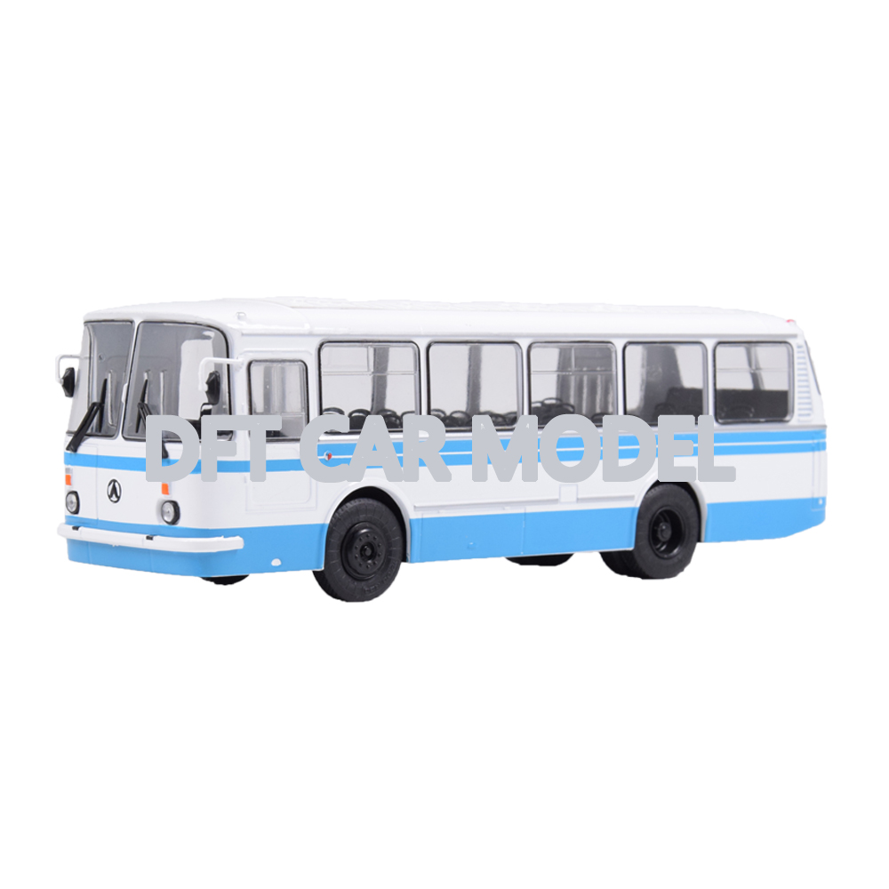 1:43 Scale Alloy Toy LAZ-69N Model Of Children's Toy Bus Model Original Authorized Authentic Kids Collection