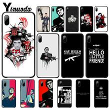 Say Hello To My Little Friends Mobile Phone Case For Iphone 5s Se 6 6s 7 8 Plus X Xs Max Xr 11 Pro Max Telephone Accessories say hello
