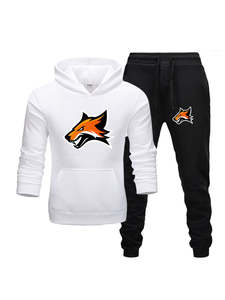 Men Tracksuit Hoodies Two-Pieces-Set Sportswear Brand Clothes Fashion New Hot Autumn