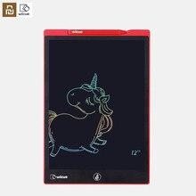 Youpin wiscue 12 polegada s / 10 polegada lcd placa de escrita tablet desenho digital imagine almofada expansão idéia caneta para crianças