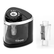 Pencil Sharpener Electric Automatic 2-In-1 Portable