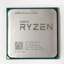 AMD Ryzen 5 1600 R5 1600 3.2 GHz 6 Core 12 Thread 65W CPU โปรเซสเซอร์ YD1600BBM6IAE ซ็อกเก็ต AM4