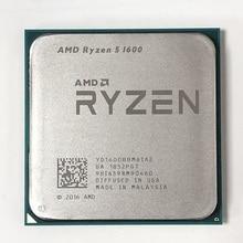 AMD Ryzen 5 1600 R5 1600 3.2 GHz ستة النواة اثني عشر موضوع 65 واط معالج وحدة المعالجة المركزية YD1600BBM6IAE المقبس AM4