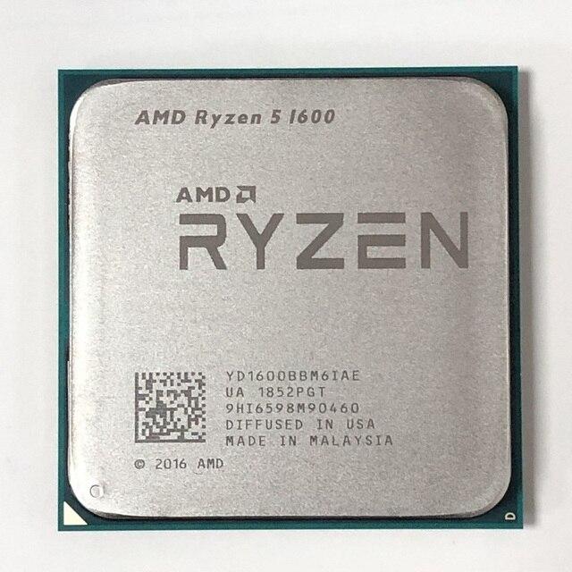 AMD Ryzen 5 1600 R5 1600 3.2 GHz Zes Core Twaalf Draad 65W CPU Processor YD1600BBM6IAE Socket AM4