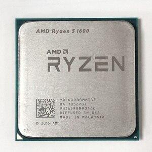 Image 1 - AMD Ryzen 5 1600 R5 1600 3.2 GHz altı çekirdekli oniki iplik 65W CPU İşlemci YD1600BBM6IAE soket AM4