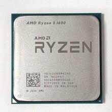 AMD procesador de CPU AMD Ryzen 5 1600 R5 1600 3,2 GHz, seis núcleos, 12 hilos, 65W, YD1600BBM6IAE Socket AM4