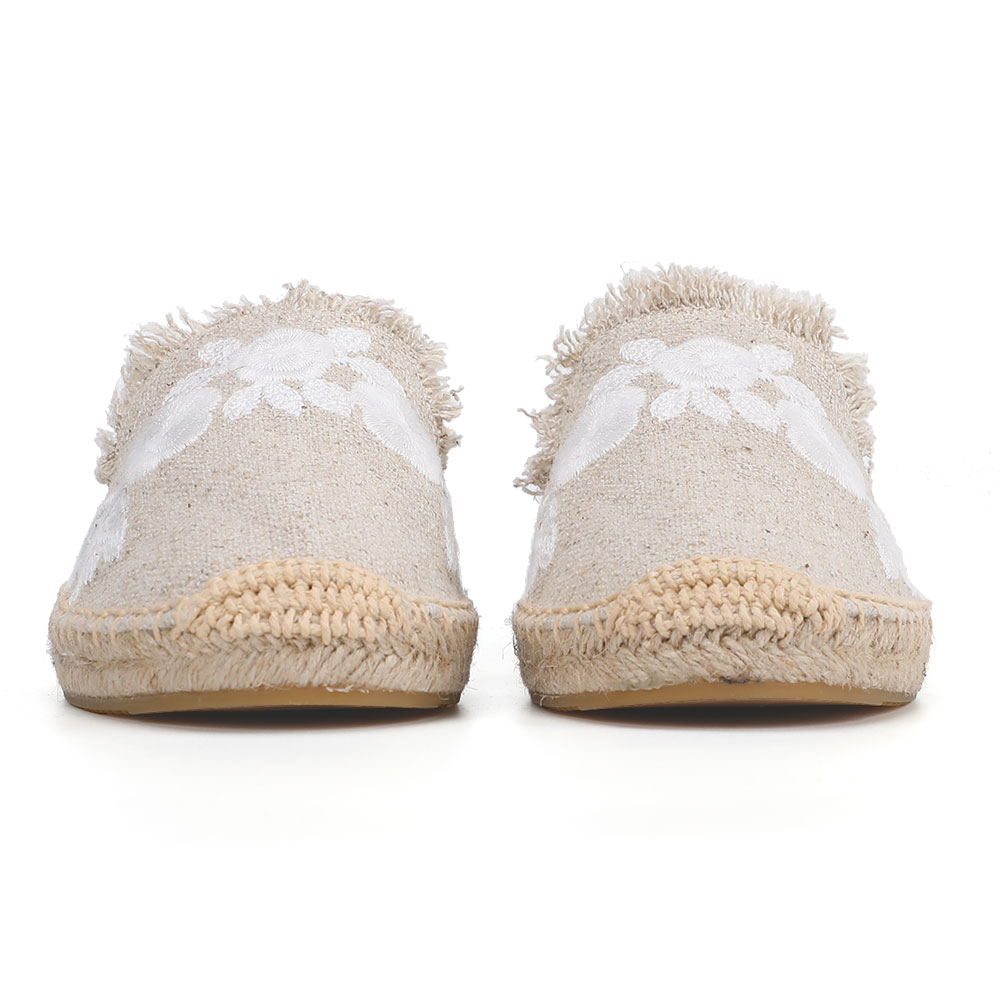 2019 Rushed New Arrival Hemp Summer Rubber Cotton Fabric Unicornio Slippers Tienda Soludos Espadrille Slippers For Flat Shoes  5