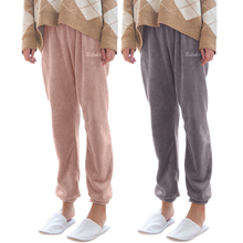 Winter Warm Flannel Long Pajama Pants Bottom Women Thick Warm Pajamas Sleep Pant
