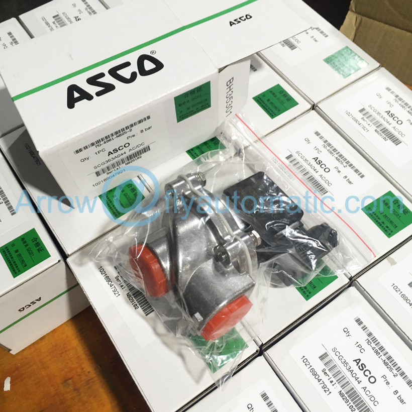 """ASCO SCG353A044 """" 2/2 way с алюминиевой резьбой одноступенчатый импульсный струйный клапан"""