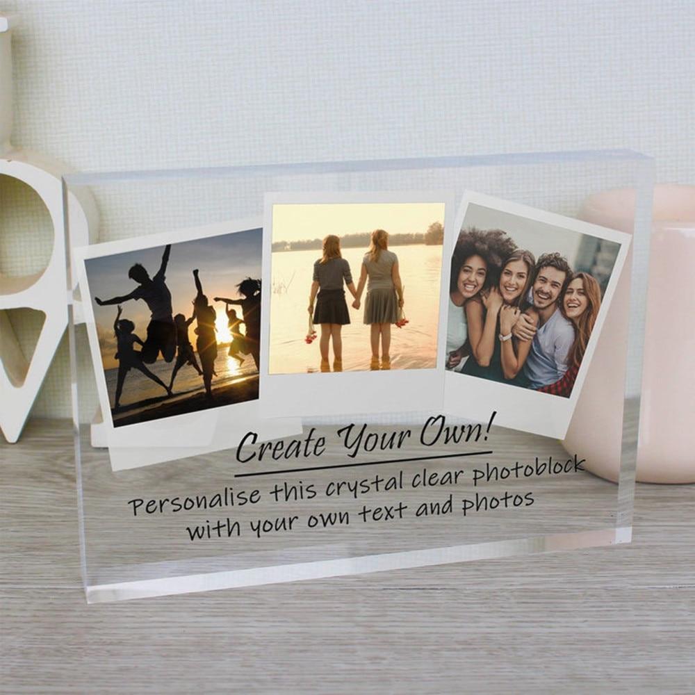 Meilleur Ami Cadre Photo Love Ya Latte gravé personnalisé en bois luxuryframe