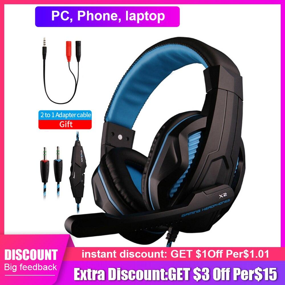 Novo ps4 gaming headset profissional fone de ouvido com fio led luz gamer estéreo fone de ouvido do computador para ps4 ps3 xbox presente masculino|Fones de ouvido|   - AliExpress