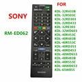 RM-ED062 новый пульт дистанционного Управление для Sony RM ED062 ЖК-дисплей ТВ KDL-32R433B KDL-32R503C KDL-32RD303 KDL-32RD433 KDL-32RE303 KDL-32WD603