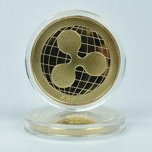 1 шт. монета ряби XRP крипто памятная ряби монета