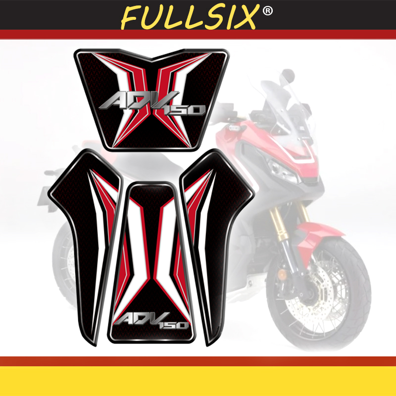 Motorcycle 3D Gel fuel tank decals tank side Protector racing kit sticker for Honda X ADV150 xadv 150 Tank Pad Decal Protector