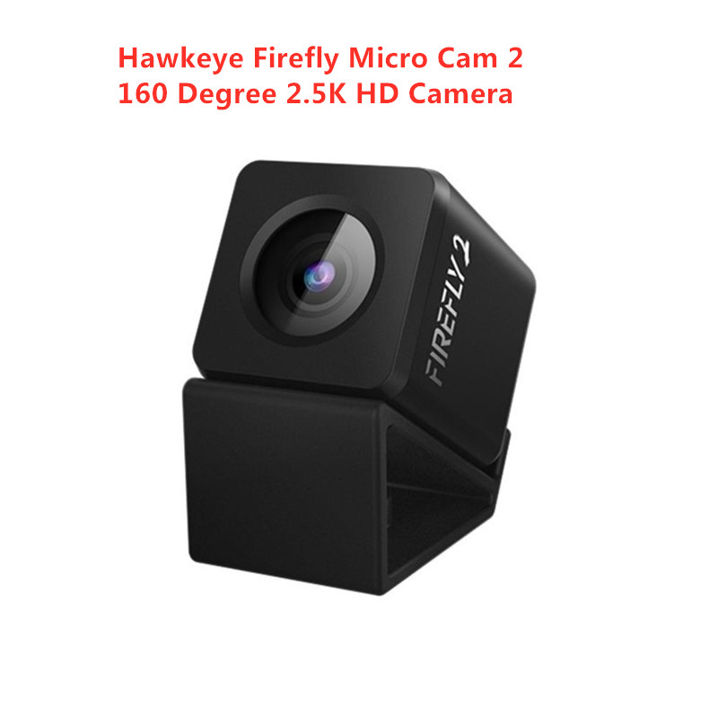 Hawkeye Firefly Micro Cam 2 160 Degree 2.5K HD Recording Waterproof Camera Built-in Battery Low Latency For FPV Racing Drone