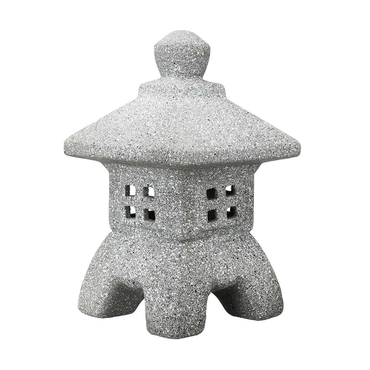 Garden Ornament Pagoda Garden Yard Sculpture Lantern Crafts Candle Holder Patio