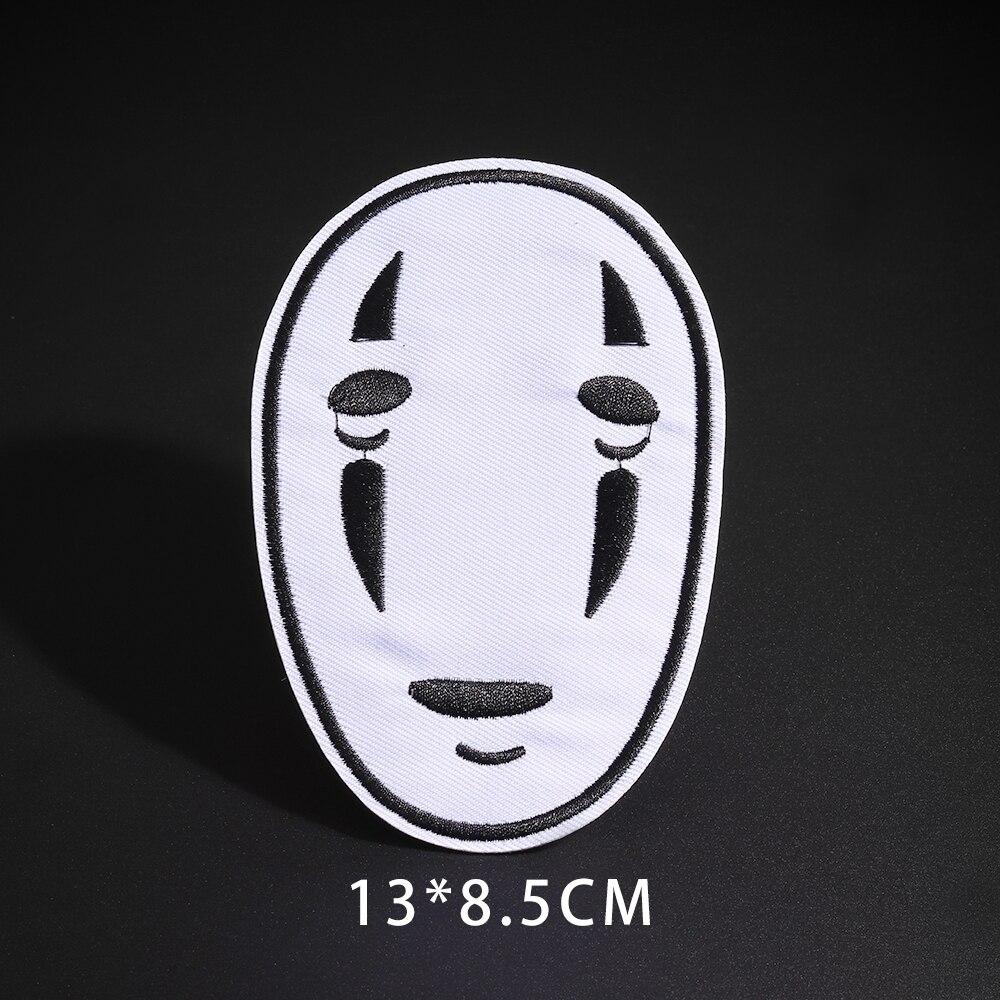 Мультфильм Dumbo нашивки со слонами клеящиеся утюгом украшения Мой сосед Тоторо ткань аппликации 3D Diy милое крыло свободы не лицо значки - Цвет: N3-BT5355