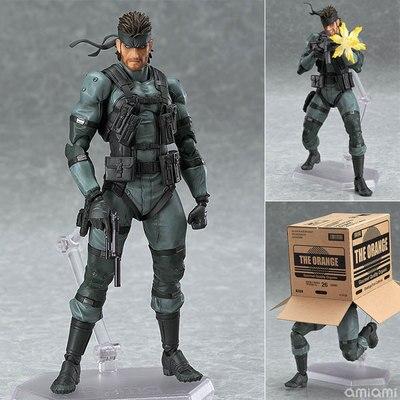 Anime 243 # metal gear solid 2 filhos da liberdade 15cm cobra pvc figura de ação collectible modelo brinquedo