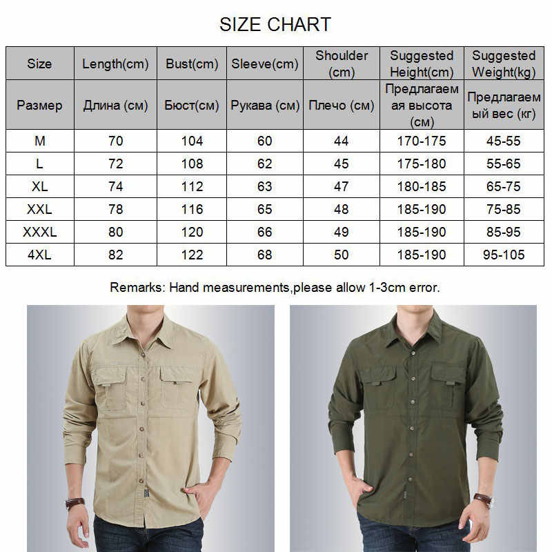 VEOBIKE Mens Fishing Shirts Lightweight Quick Dry Breathable Long Sleeve Cargo Outdoor Hiking Travel Shirts Pockets