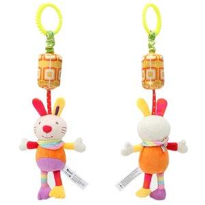 Image 2 - יילוד תינוק עגלת צעצועי פעמון מיטת & תינוק עגלת תליית פעמון צעצועים חינוכיים תינוק רעשן צעצועים רכים סגנונות игрушки
