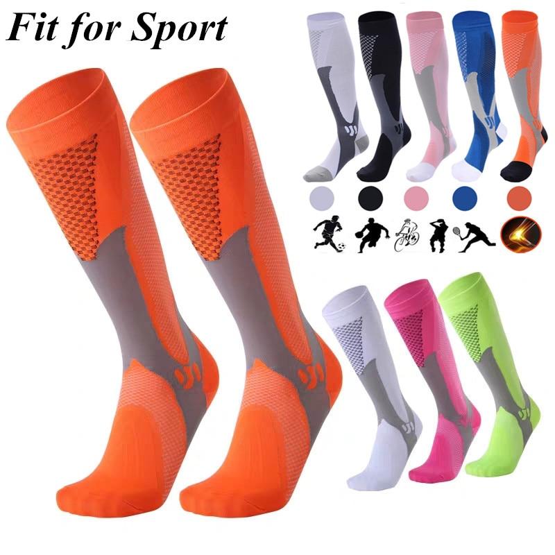 24 Styles Compression Socks Nylon Medical Nursing Stockings Crossfit Hockey Socks Outdoor Cycling Breathable Sports Tarvel Socks