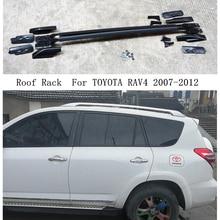 Roof-Rack Rail-Boxes Luggage-Carrier-Bars Aluminum-Alloy RAV4 TOYOTA for Top-Bar