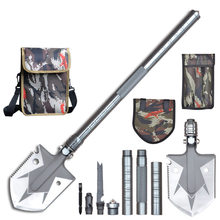 ALMIGHTY EAGLE Outdoor Mini multifunctional shovel survival Tactical Garden tool folding shovel Camping Hunting self defense