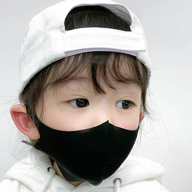 10pcs Kids Children Mouth Mask For 4-11 Years Anti Pollution Mask PM2.5 Air Dust Face Masks Thin Washable Reusable Mouth Cover 1