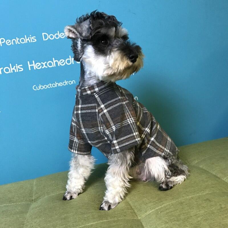 Winter Dog Clothes Pomeranian Schnauzer Pug Clothing Poodle Bichon Frise Dog Coat Hoodie Outfit Dropship Dog Costume Apparel
