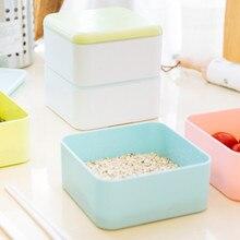 Мультфильм Janpanese Bento Box здоровая пластиковая коробка для завтрака пригодная для использования в микроволновке духовка ланч бокс es контейнер для еды столовая посуда ребенок Childen Ланчбокс