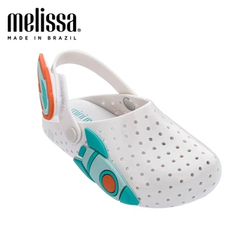 Mini Melissa Ice Cream Girl Sandals 2020 Summer Rain Shoes Breathable Soft children sandals lovely