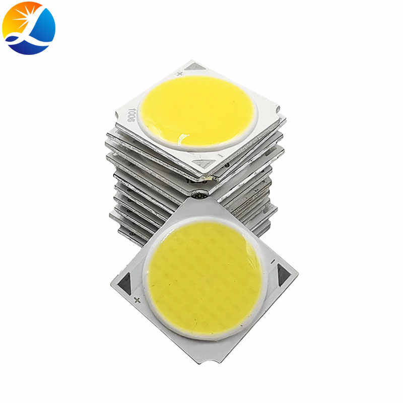 10 Pcs 19X19 Mm 10W 30W LED COB Chip On Board Lampu untuk DIY Lampu Sorot lampu Sorot Downlight 19 Mm Square Lampu LED 30V 33V Cob