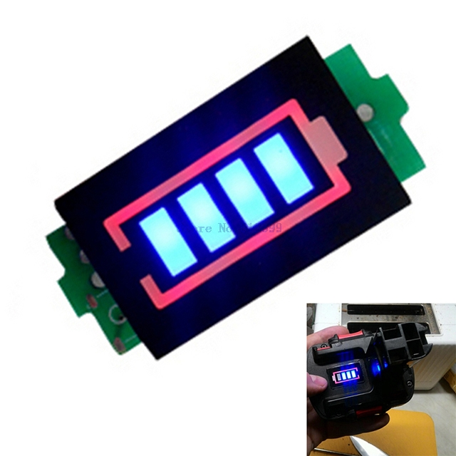 A7-- 1S 2S 3S 4S 6S 7S Series Lithium Battery Capacity Indicator Module Display Electric Vehicle Battery Power Tester Li-po Li-i