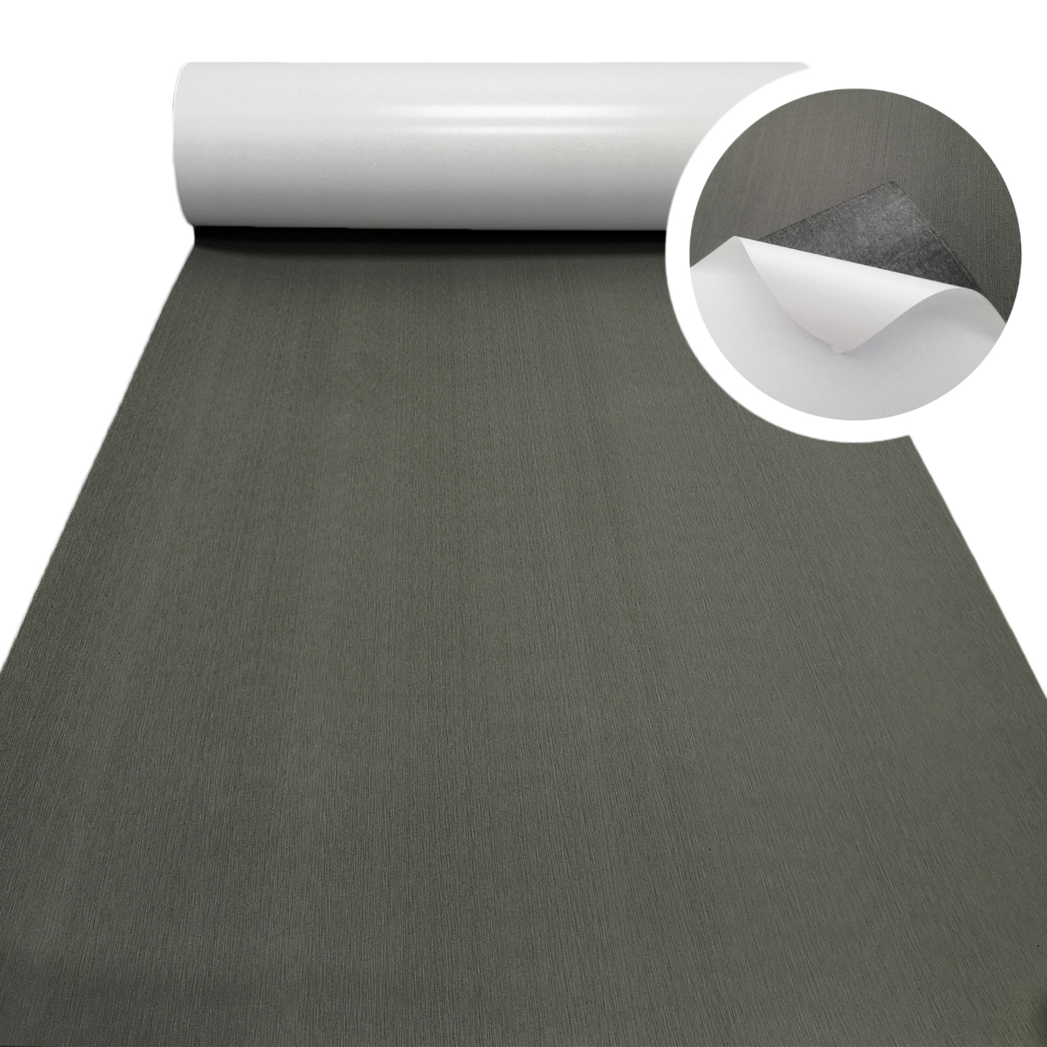 EVA Foam Faux Teak Decking Sheet Dark Gray Yacht Marine Carpet Flooring Mat Non Skid Self Adhesive Sea Deck Boat Accessories