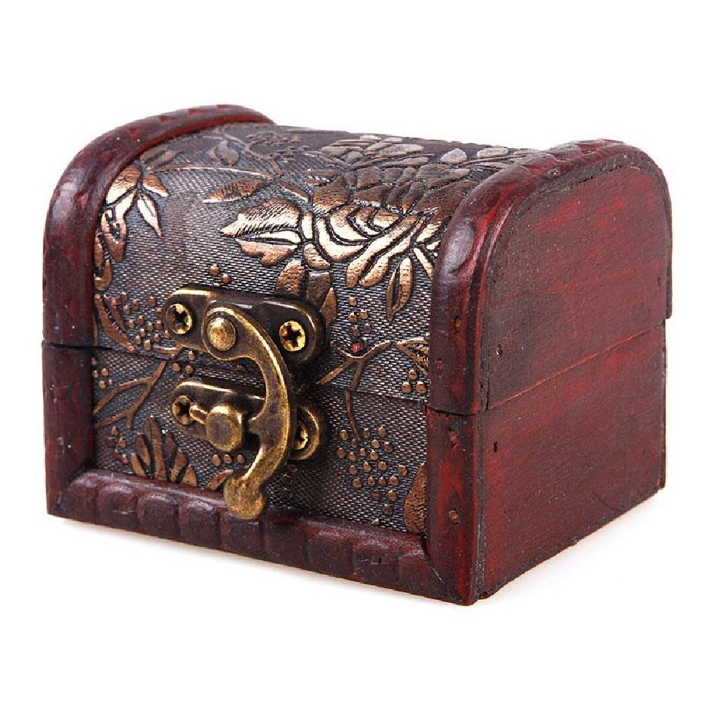 Jewelry-Box Ornament-Decoration Wooden Beautiful Vintage Antique Old Hot-Selling -Nu