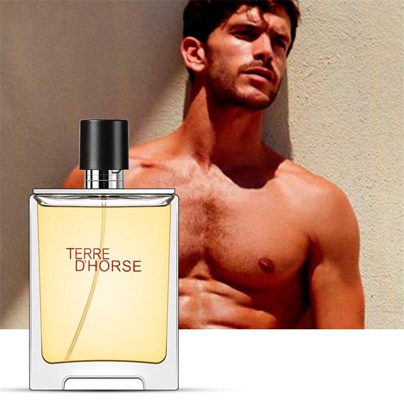 100ml Men's Perfume Eau De Toilette Glass Bottle Natural Spray Fragrance Perfume Masculino Fresh Woody Notes