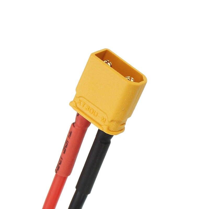 10cm 20AWG XT60 Cắm Cái để XT30 Nam Cắm Cáp Adapter dành cho Pin Sạc