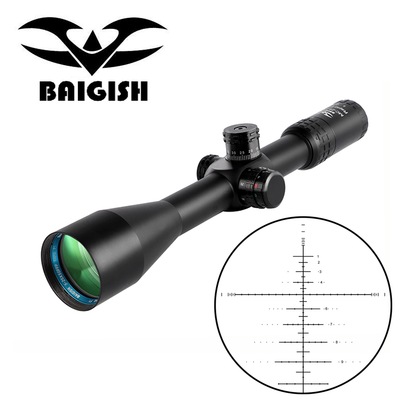 BAIGISH 5-25x50 Z1000 FFP Sight Hunting Scope Tactical Rifle Scope Side Parallax Adjust Sniper Air Rifle Scope(China)