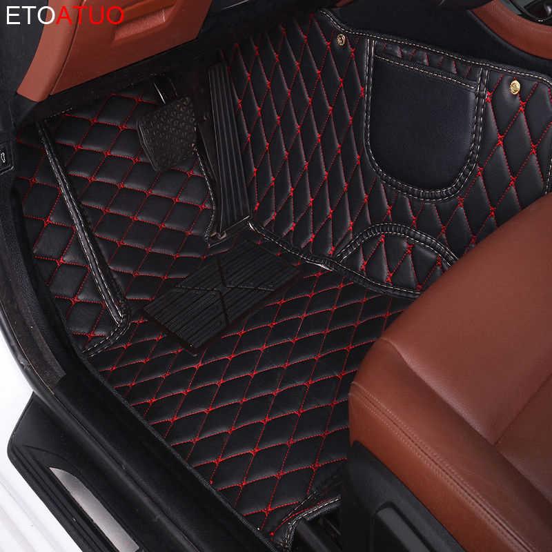 ETOATUO niestandardowe dywaniki samochodowe dla Geely wszystkie modele Emgrand EC7 GS GL GT GC9 EC8 X7 FE1 GX7 SC6 SX7 GX2 akcesoria samochodowe stylizacji