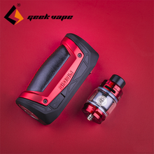 Box MOD Vaporizer Geekvape Aegis Zeus Drag X 18650/21700-Battery 100W Max with 5ml Sub