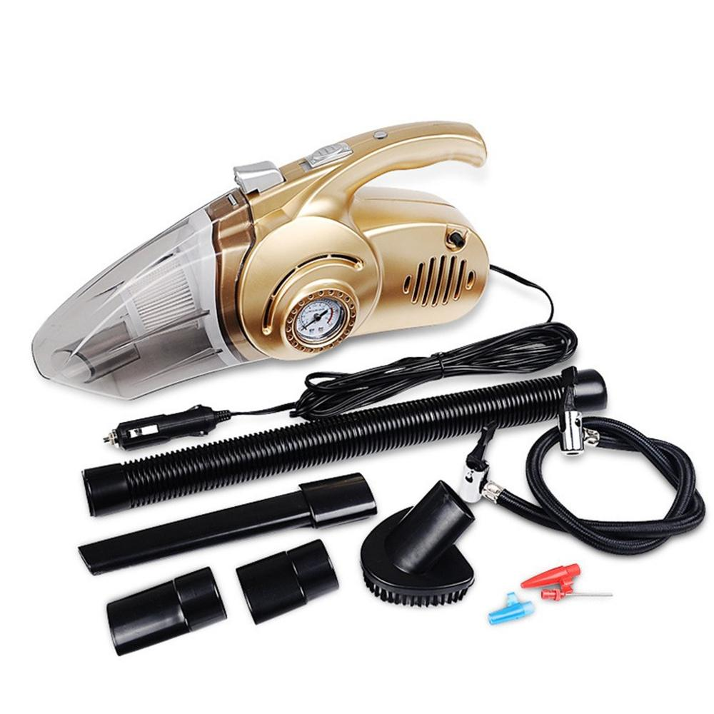 ABS Car Vacuum Cleaner 12V Wet And Dry Multi-Purpose Supplies Air Pump Car Four-In-One Vacuum Cleaner