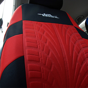 Image 5 - AUTOYOUTH Fashion Tire Track Detail Style Universal Car Seat Covers Fits Most Brand Vehicle Seat Cover Car Seat Protector 4color
